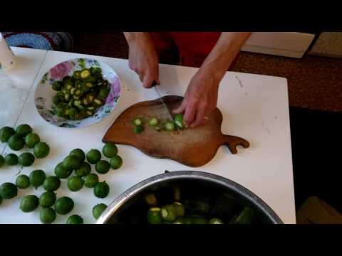 Варенье (лекарство) из зелёных орешков