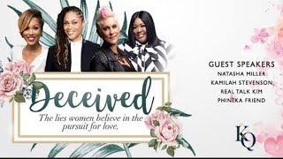 DECEIVED: Lies Women Believe in Pursuit of Love 2-23-18 RELATIONSHIP WEBINAR