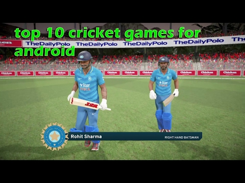Top 10 Android Cricket Games (2018)