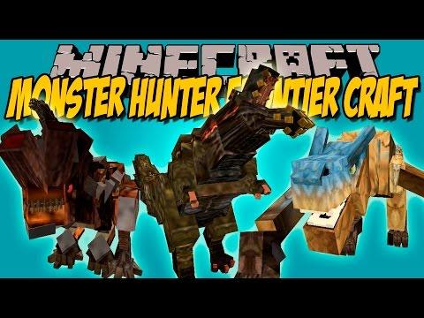 MONSTER HUNTER FRONTIER CRAFT MOD - Bosses Epicos! - Minecraft mod 1.7.10 Review ESPAÑOL
