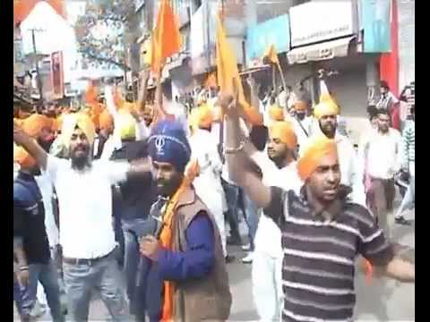 Update 31st March Panjab Sikhs respond to Gurdaspur