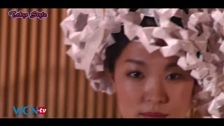 WCN-tv.com: Tokyo Style - Origami Fashion Show