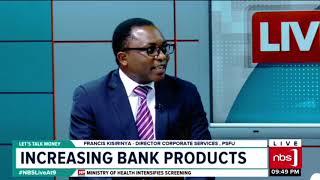 Live at9 business news part3: Increasing Bank Products ,Francis Kisirinya