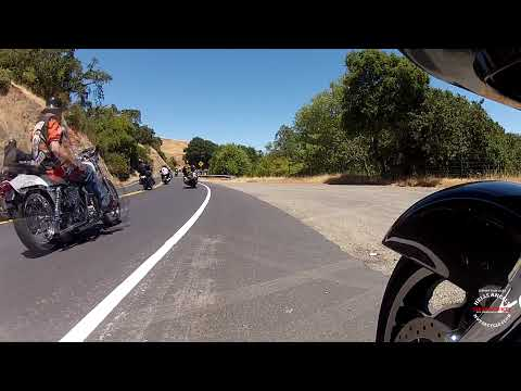 TAKE A RIDE with the HELLS ANGELS MC | SONOMA CO.| MARIN COUNTY RUN & BBQ 2013