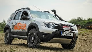 Mudster: accesorii off-road pentru Dacia Duster / Duster off-road accessories (English subtitles)
