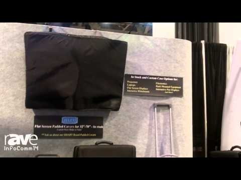 InfoComm 2014: Jelco Features its Flat Screen Padded Covers
