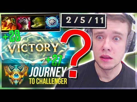 DOING ANYTHING TO WIN..ANNNYYTHIINNGGGG - S8 PLACEMENTS - Journey To Challenger | League of Legends