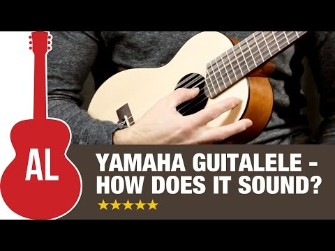 Yamaha Guitalele Review - How does it sound?