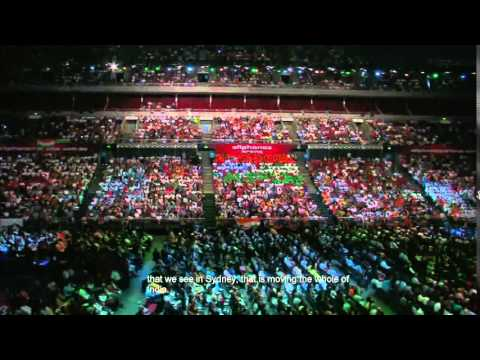 Shri Narendra Modi's Speech In All Phones Arena Sydney (hindi) video