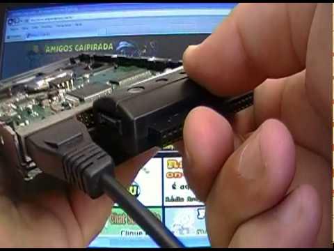 USB 2.0 TO SATA ADAPTER HD OU DVD CD EXTERNO