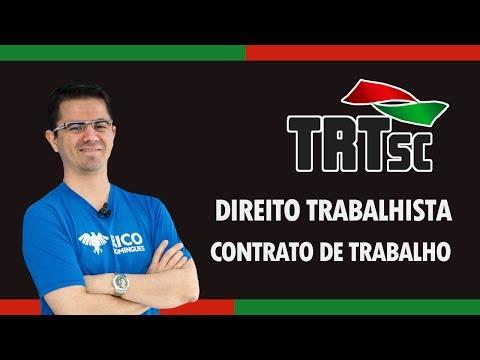 Concurso TRT-SC 2017: Direito do Trabalho (Contrato de Trabalho