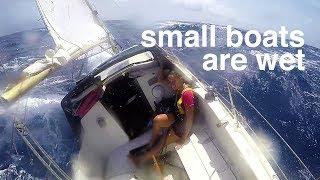 Small boats are wet  - Sailing Tarka Ep. 21