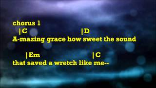 Broken Vessels Amazing Grace Hillsong Backing Track