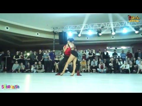 Alexander Sezai Guven & Tuana Tugce Ayaz Show - Tdsf Adana 2.Etap Salsa Yarışması After Party - 2016