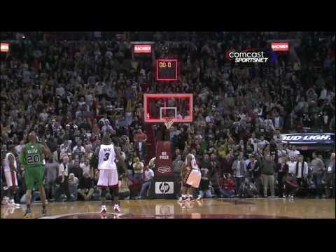Rajon Rondo Alley-Oop Buzzer Beater - Boston Celtics vs. Miami Heat