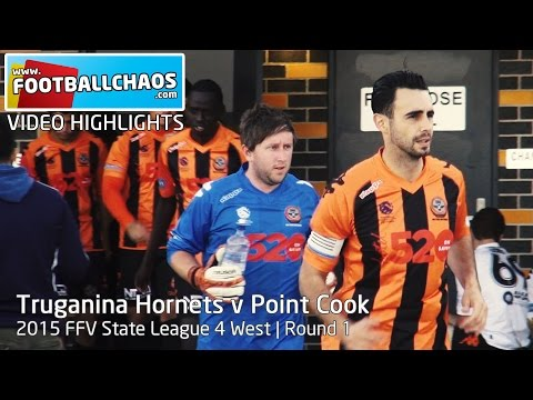 2015 FFV Rd 01 - Truganina Hornets v Point Cook