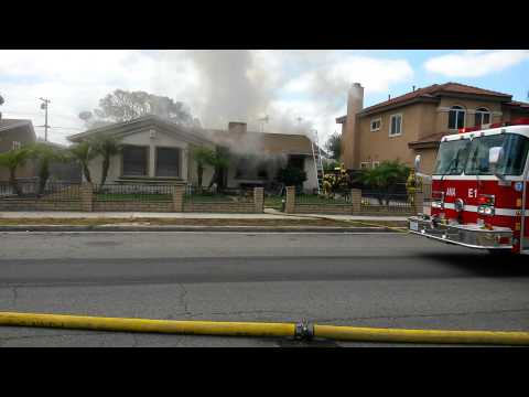 House fire in Anaheim