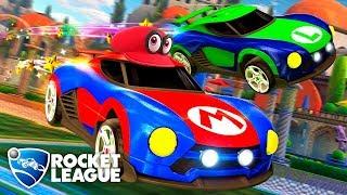 ¡Cappy ha capturado mi coche! - Rocket League (Switch) DSimphony