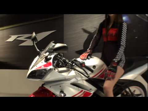 Yamaha R15 White Auto Expo 2010 Video