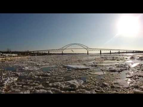 MIramichi River Ice Breakup