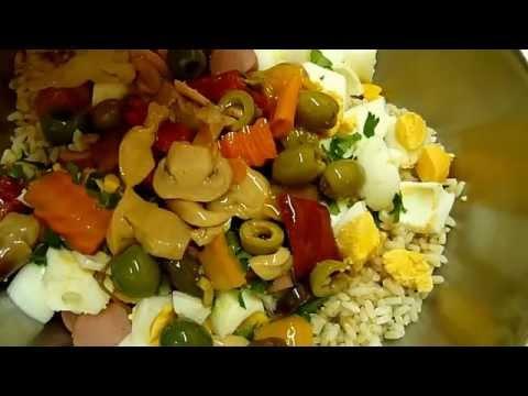 Как сделать Салат из Риса Итальянский рецепт