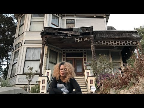 The 'THRILLER' girl (Ola Ray) returns to the video locations