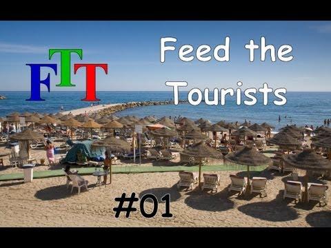 Minecraft - YogCraft FTB - WeirdEars Feed The Tourists - Part 1 - The mission statement