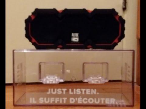 Altec Lansing Life Jacket III Waterproof Portable Bluetooth Wireless Speaker Unboxing