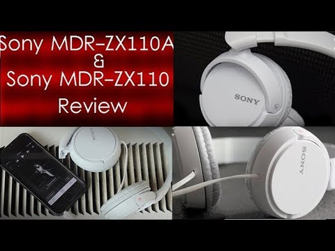 Sony MDR-ZX110A & Sony MDR-ZX110  Headphones Review [Hindi]