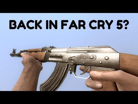 Far Cry Forgotten Features - Jamming, Breaking & Inspect Animations