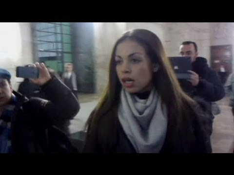 Ruby in court for Berlusconi sex case