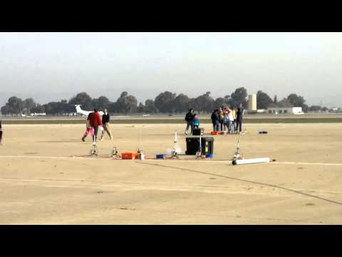 Ethan Boyscout Rocket Launch at Moffett NASA AMES - launch