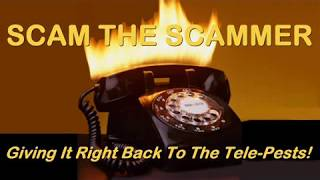 """Scam The Scammer 057 """"Gotta Get This Phone Line Fixed"""""""