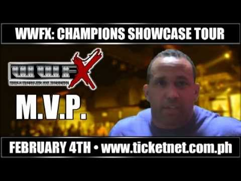 Former Wwe Superstar Mvp Is Coming To Manila Feb. 4th 2012! video