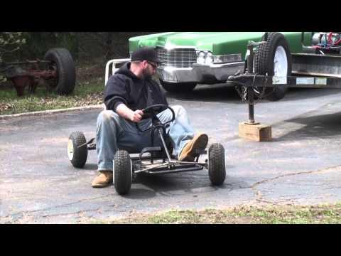 gokart TEST & TUNE Briggs & Stratton RAPTOR 5hp flathead engine THUNDERKART
