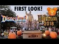 First Look! Halloween at Disneyland 2018