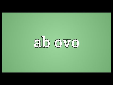 Header of Ab ovo