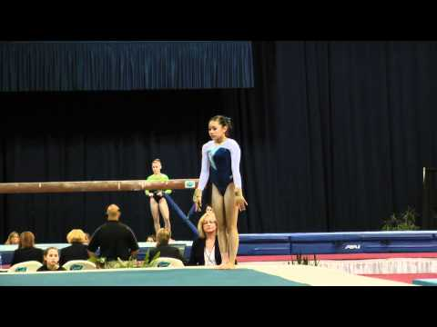Veronica Hults -- Floor Exercise -- 2012 U.S. Secret Classic
