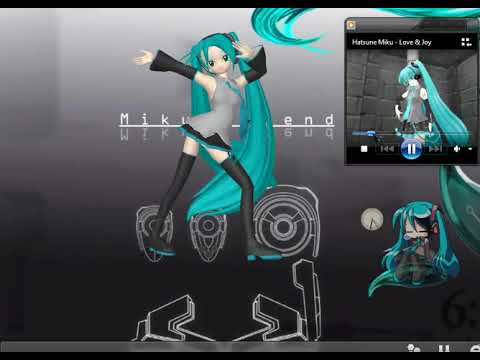 MikuMikuDance Mascota en tu Escritorio Ichi! Download→ Modelos+Motion+Música!