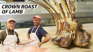 How to Turn a Whole Rack of Lamb Ribs Into a Crown Roast — Prime Time