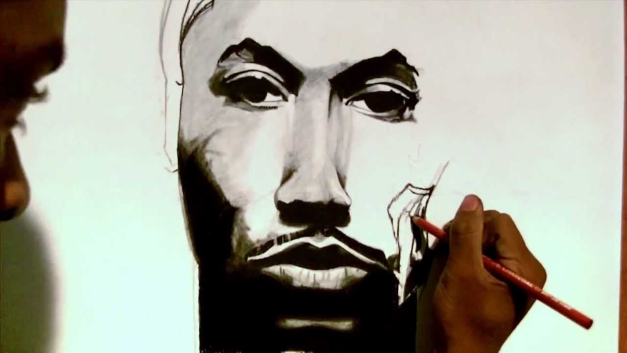 Derrick Rose Drawing Step by Step Derrick Rose Drawing by Denzel