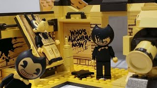 Bendy And The Ink Machine Lego Construction Sets Fnaf toy fair 2018