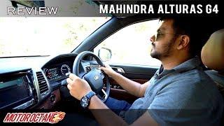 Mahindra Alturas G4 Quick Review   Hindi   MotorOctane