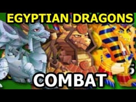MUMMY Dragon SPHYNX Dragon and PHARAOH Dragon COMBAT Attacks at Level 23