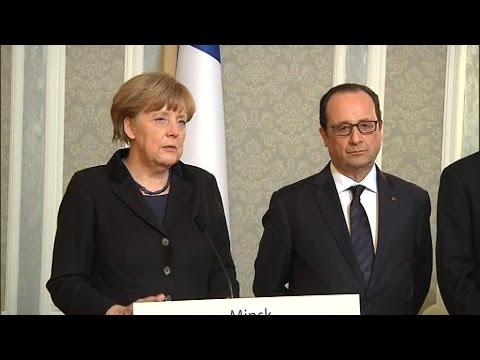 Ukraine: le couple franco-allemand uni pour résoudre la crise