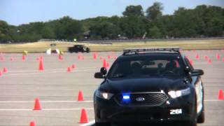 2013 Ford Police Interceptors Track Drive