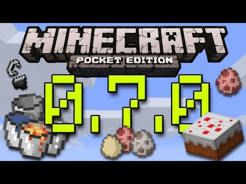 Minecraft Pocket Edition 0.7.0 Update  Review [Gameplay - Bugs - Overview]