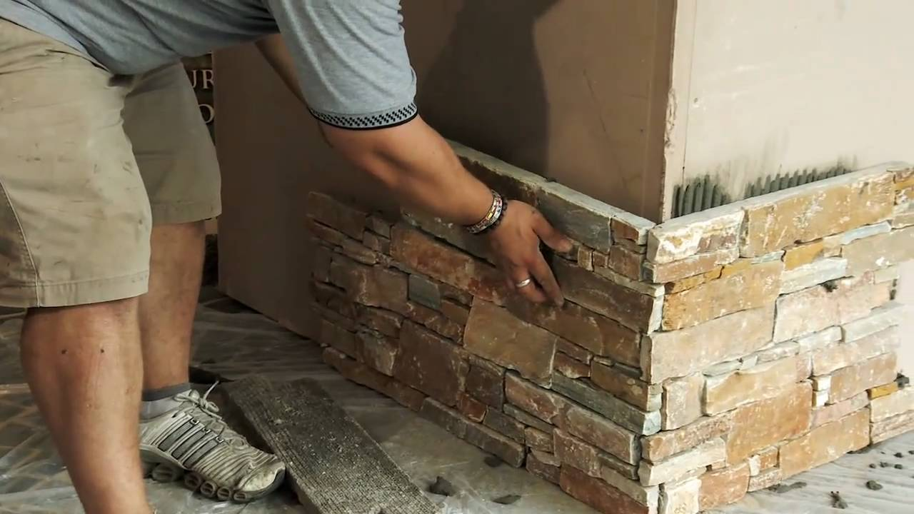 u0026quot;How to apply Ledge Stoneu0026quot; by Decor Stone Australia - YouTube