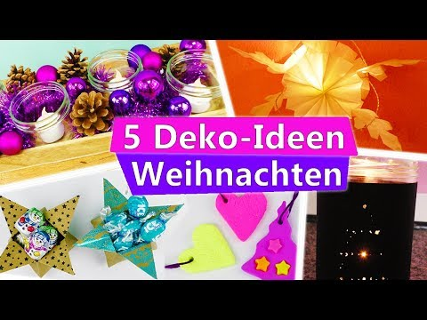 16:56 5 DIY Weihnachts  U0026 Winter  DEKO IDEEN Zum Selber Machen Fürs Zimmer  | Einfach
