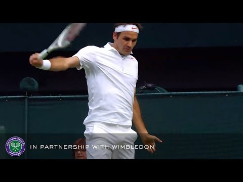 Sergiy Stakhovsky v Roger Federer (2013 Men's 2nd Round) - Rolex Wimbledon Golden Moments
